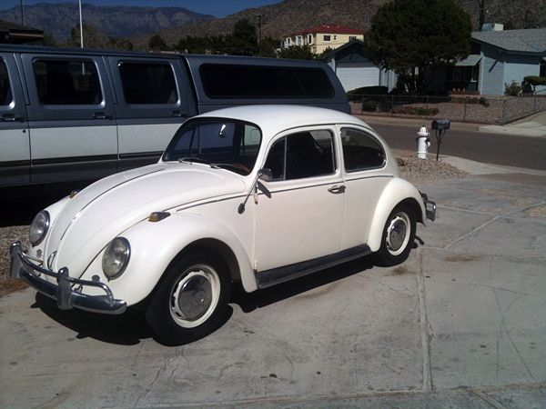 1966 VW Bug - Purchased old 1966 bug to restore