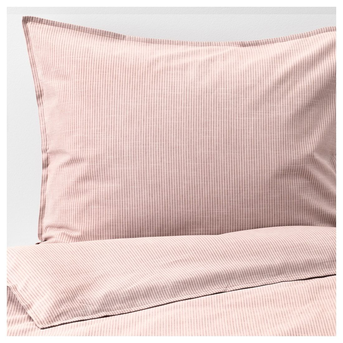 Bergpalm Duvet Cover And Pillowcase S Pink Stripe Twin Ikea Pink Duvet Cover Ikea Duvet Duvet Covers