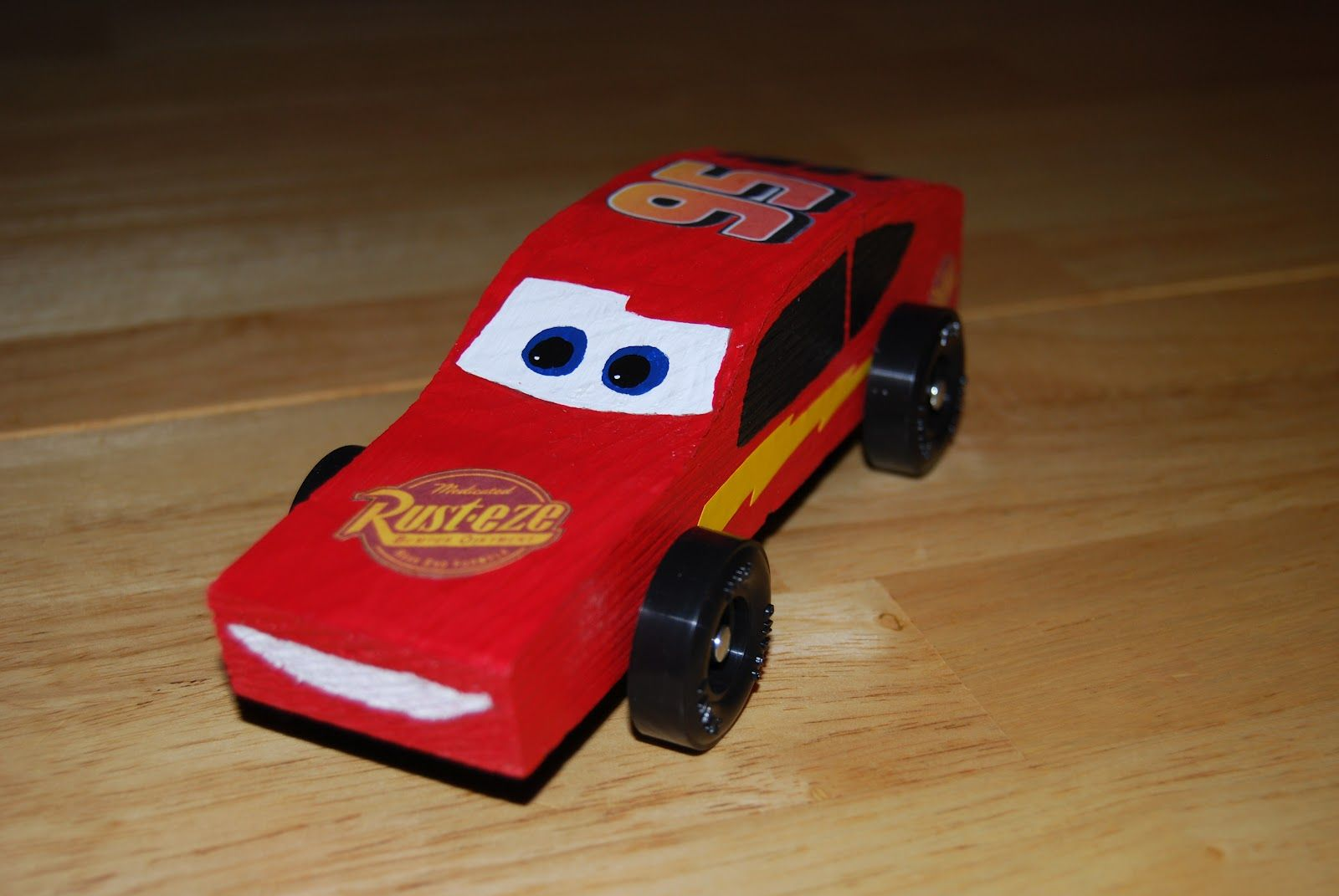 how to build awana race car