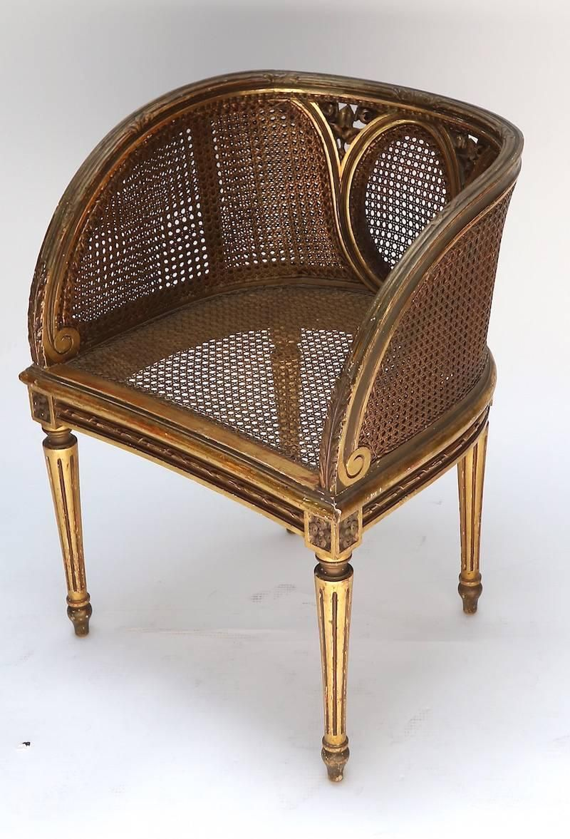 Louis Xvi Style Cane Chair From A Unique Collection Of Antique