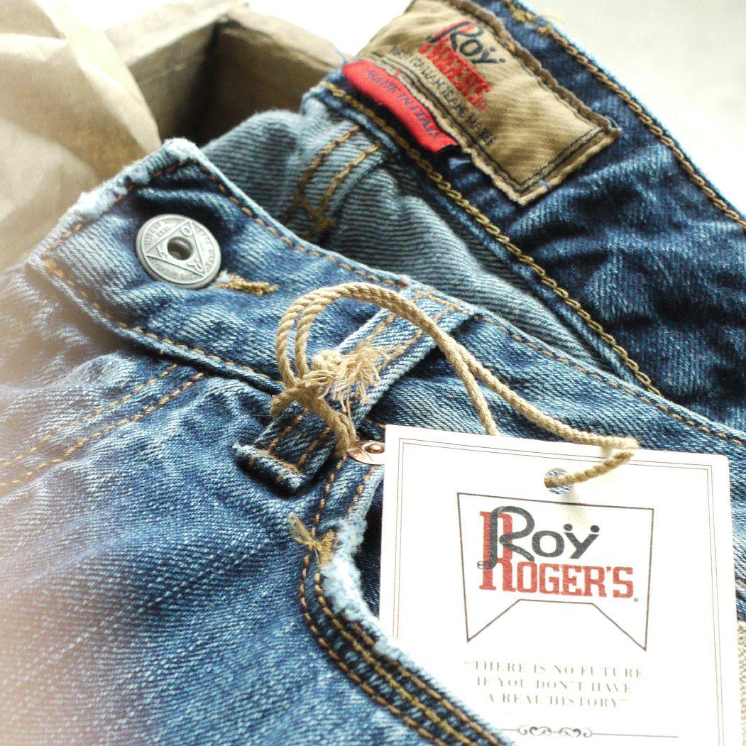 Roy Roger's: unwrap a denim joy.  #denim #jeans #style