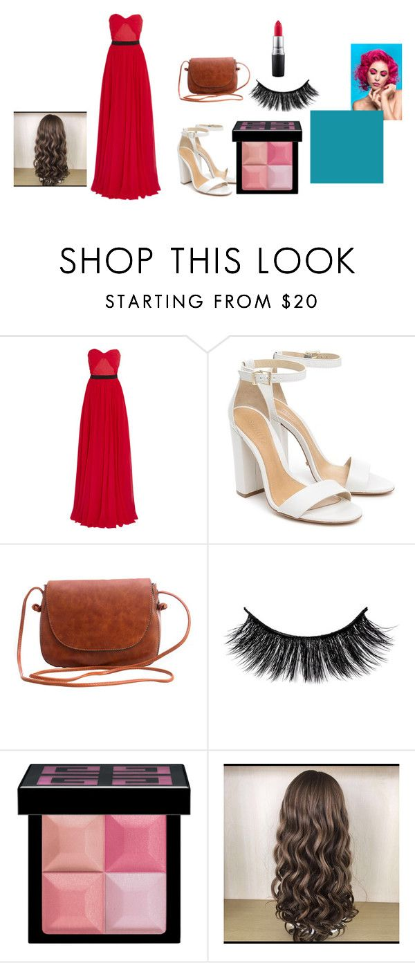 """""""formal parlor"""" by miasmith0515 on Polyvore featuring Michael Kors, Schutz, Givenchy and MAC Cosmetics"""