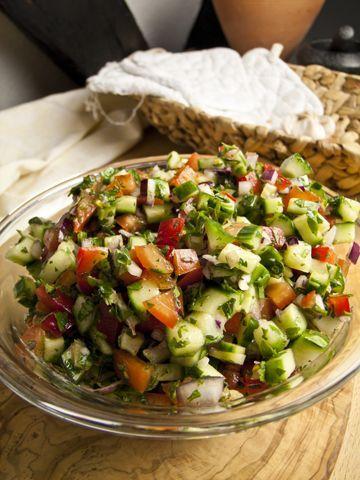 Israelischer Salat › Foodina #levanteküche