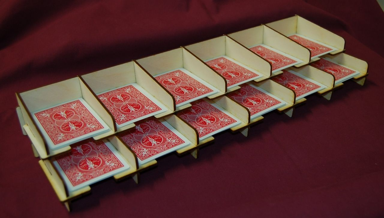 Best Card Deck Holder Card Storage Shadows Of Brimstone City Of The Ancients Deck Of Cards Card Storage Board Game Organization