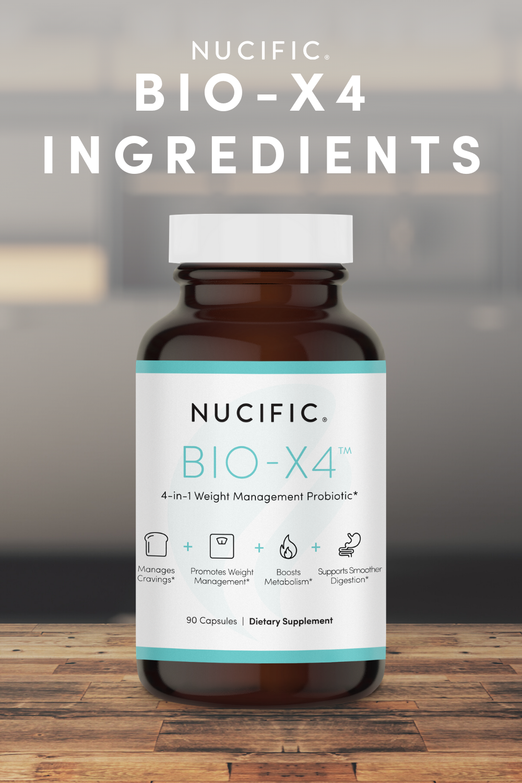 BIO-X4 | Nucific's BIO-X4 4-in-1 Supplement in 2020 | Bio ...