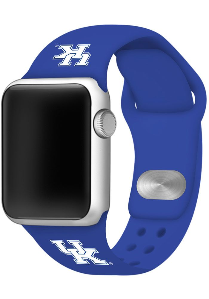 Kentucky Wildcats Blue Silicone Sport Apple Watch Band