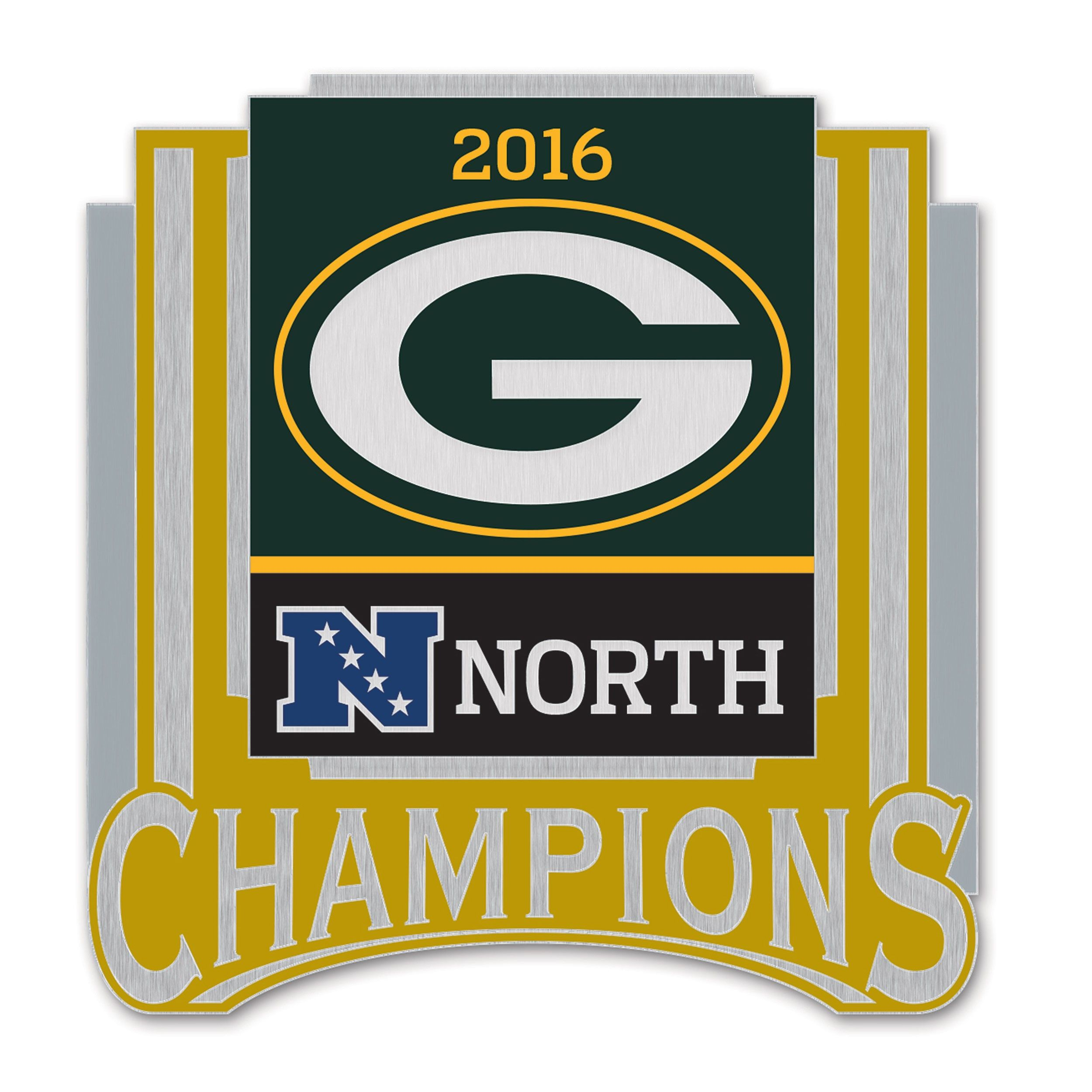 Packers 2016 Nfc North Division Champs Pin Green Bay Packers Green Bay Green Bay Football