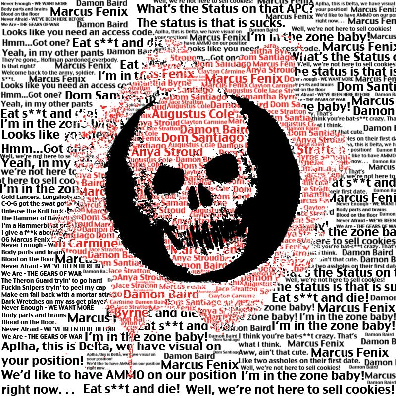 Gears of war cog logo typography by thomasdriveriantart on gears of war cog logo typography by thomasdriveriantart on deviantart voltagebd Choice Image