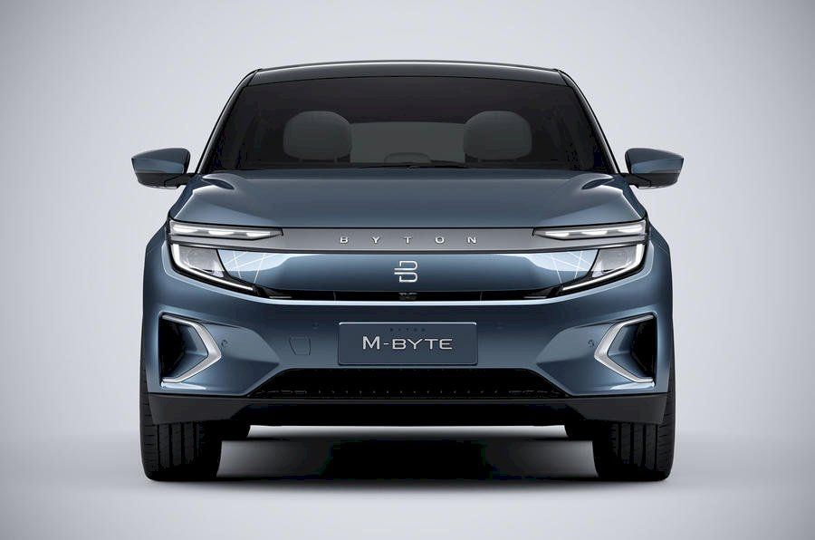 Byton M Byte Electric Suv Breaks Cover In Production Form New Tesla Suv Byte