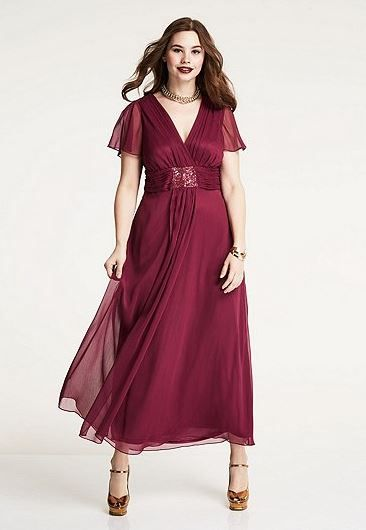 new style 36328 7ba76 Abendkleid mit Schmuckbrosche in 2019 | Brautmutterkleider ...