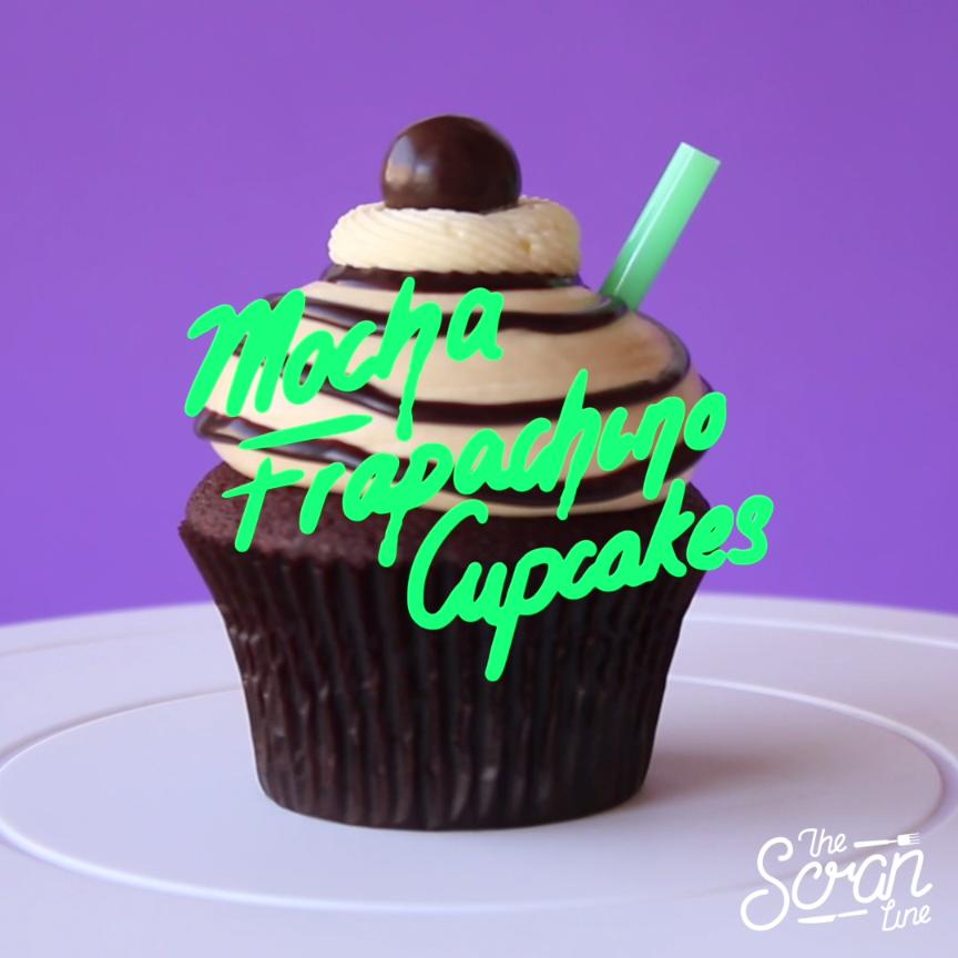 Mocha Frapachino Cupcakes