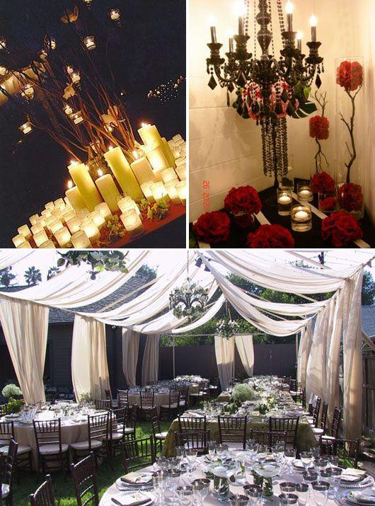 Twilight Wedding Centerpieces Twilight Wedding Decoration Ideas
