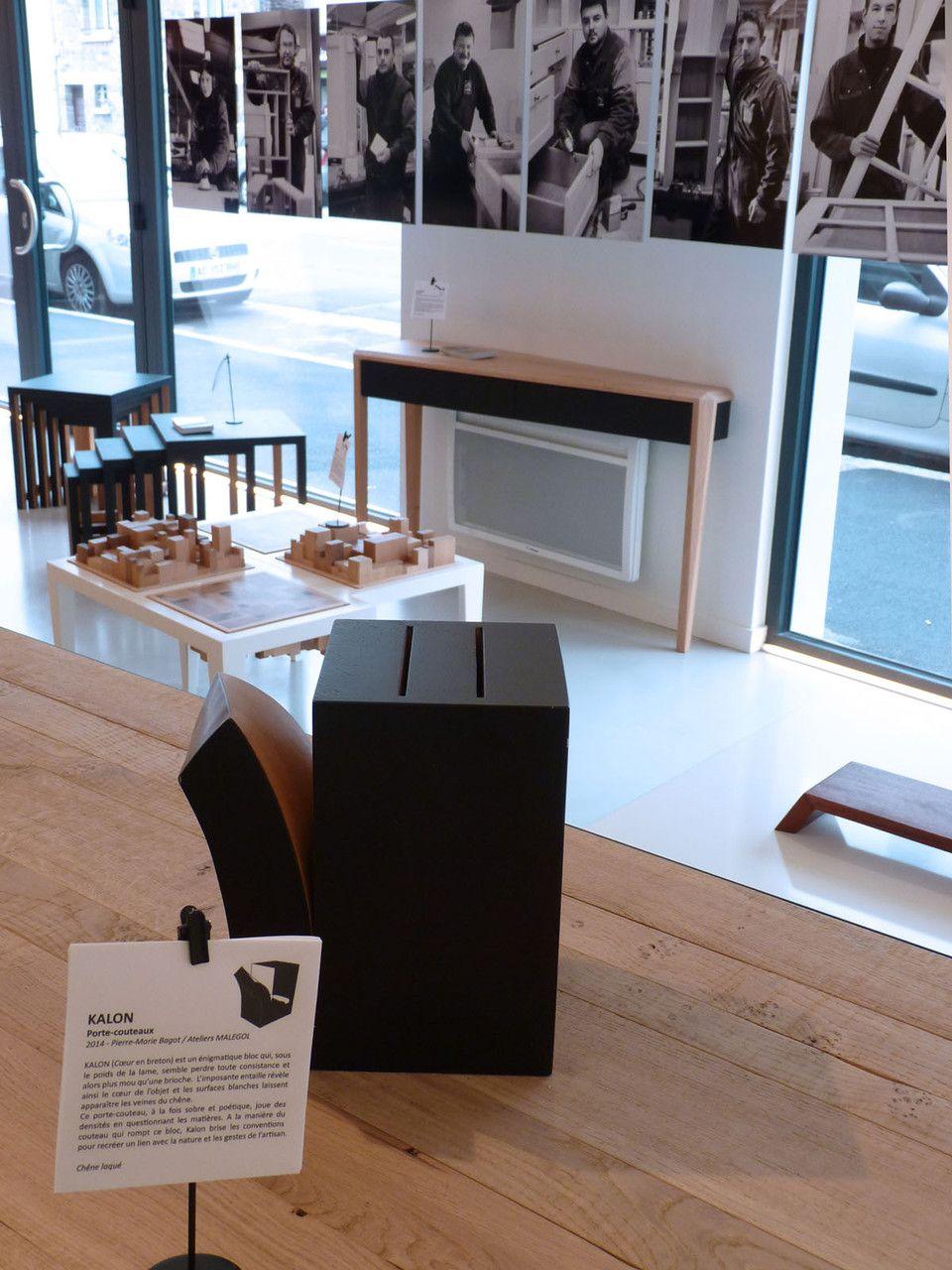 ateliers malegol 230 rue st malo rennes espace meubles design porte couteaux kalon On meubles design rennes