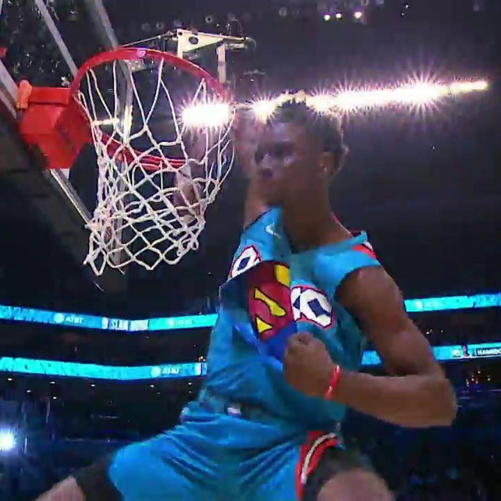 """Yahoo Sports on Twitter """"OVER SHAQ‼️ ELBOW IN THE RIM‼️"""