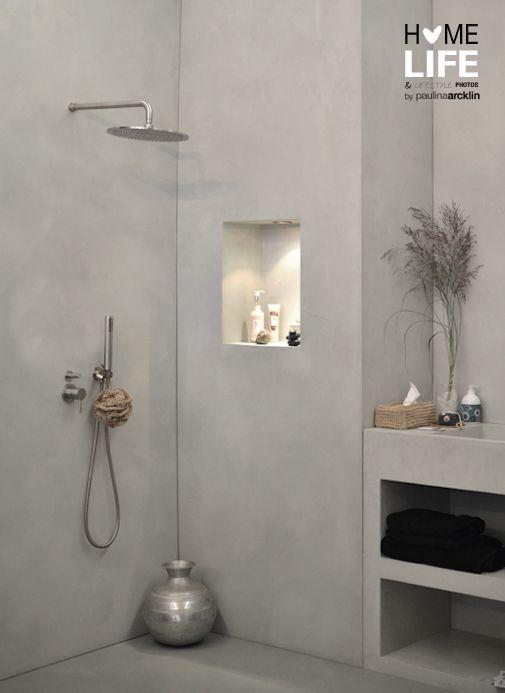 Lovely Bathroom | Shower | Concrete Interior | Concrete Design | Inspiration | Home  | Interior Design