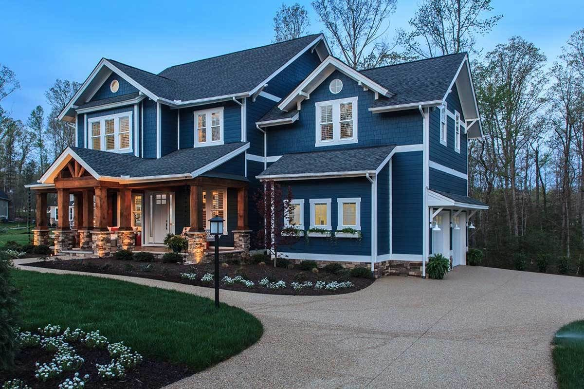 Home Plan HOMEPW12862 3054 Square Foot