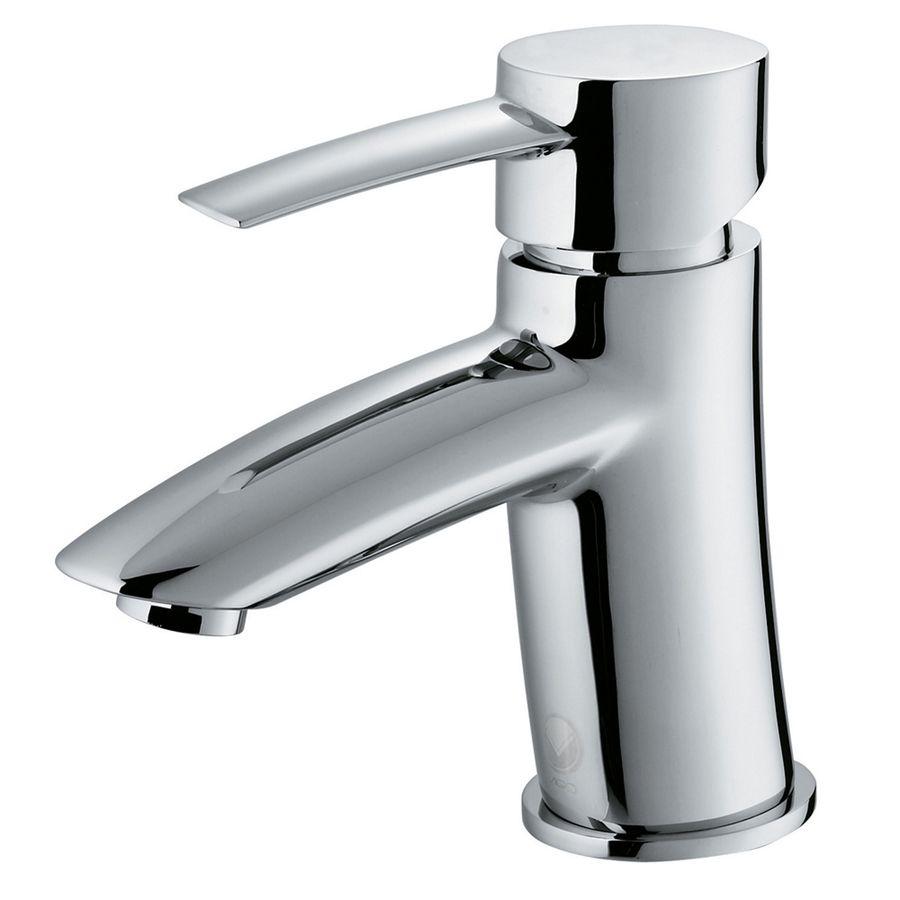 Vigo Bova Chrome 1 Handle Single Hole Watersense Bathroom Faucet Lowes Com Single Handle Bathroom Faucet Single Hole Bathroom Faucet Bathroom Faucets [ 900 x 900 Pixel ]