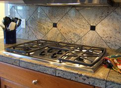Commercial Grade Gas Stove Top.