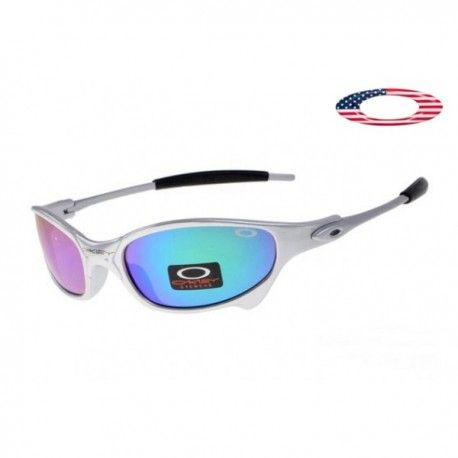 4a4687365685 Fake oakleys for sale juliet sunglasses polished white   ice iridium  onlinewith lower price