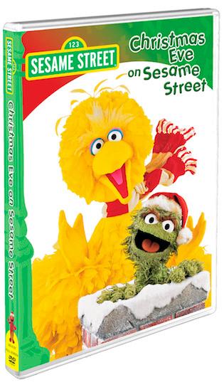 Christmas Eve On Sesame Street Dvd Christmas Fun Happy Christmas Eve Classic Holiday Card