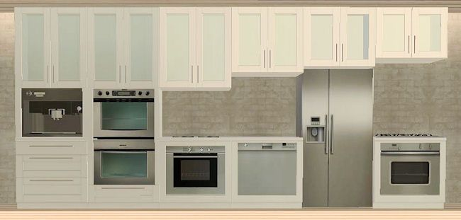 IKEA FAKTUM kitchen addons - slaved | IKEA Sims 2 | Pinterest | {Ikea küchen faktum 17}