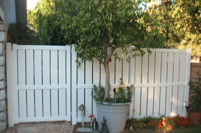 Home Depot Privacy Fencing Semi Vinyl Privacy Fence From