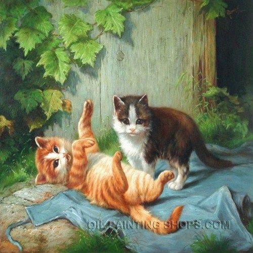Cat Painting, Cat Portraits