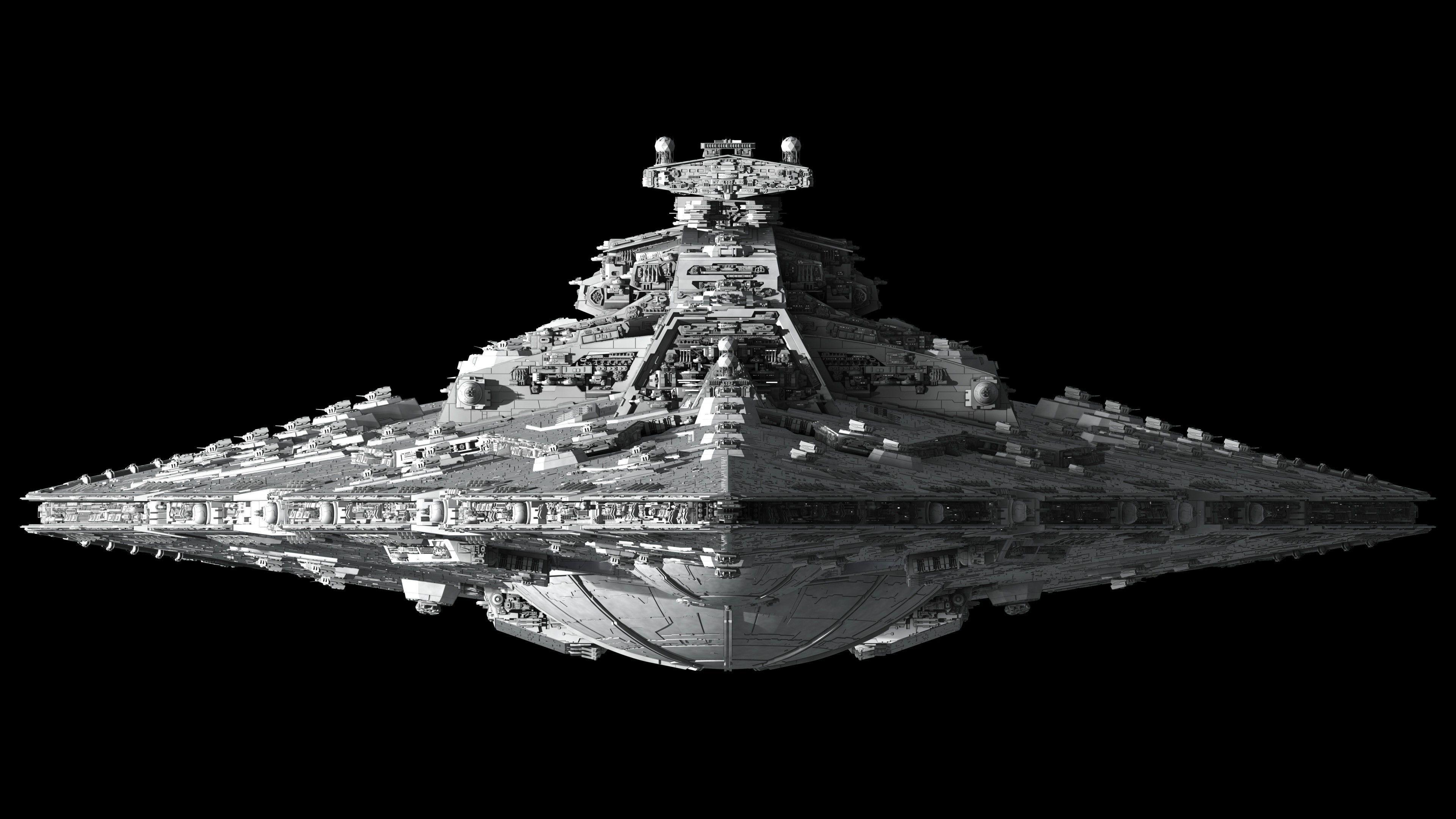 HiRes Star Wars Imperial Star Destroyer Star destroyer