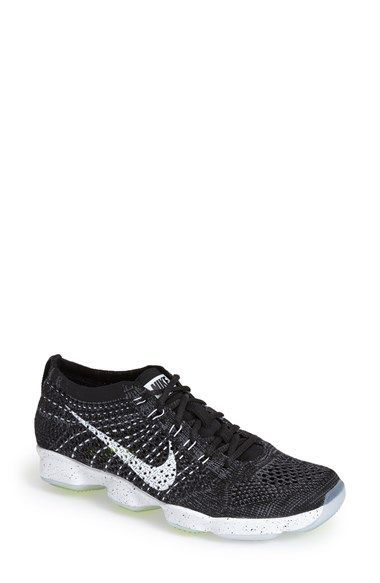 size 40 02965 abf77 ... usa nike flyknit zoom agility training shoe synthetic black dark grey  white 6841f a983f
