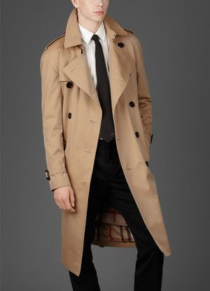 Trench Coat In Cool Colour, Trench Coat Male Celebrities
