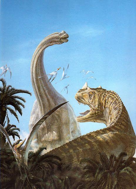 Love in the Time of Chasmosaurs: Vintage Dinosaur Art: De Oerwereld van de Dinosauriërs - Part 2