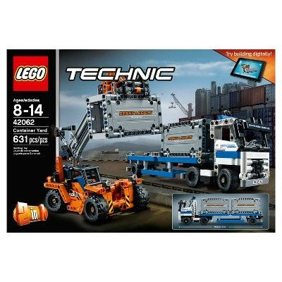 LEGO Technic Container Yard 2017 42062