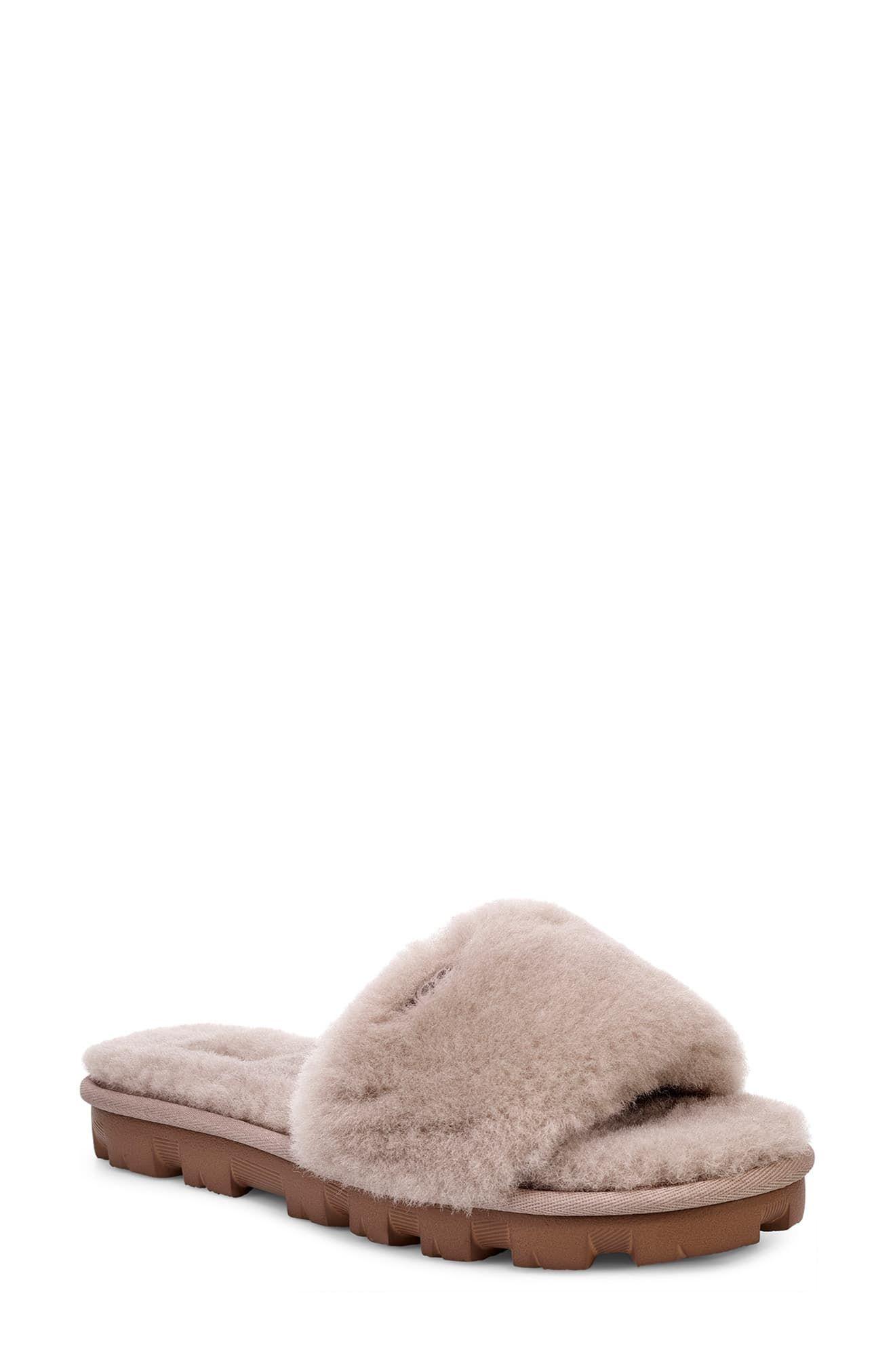 UGG Cozette Genuine Shearling Slide