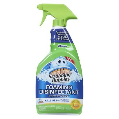 Scrubbing Bubbles Bathroom Grime Fighter Spray Citrus 32 Fl Oz Bathroom Cleaner Scrubbing Bubbles Bathroom Cleaner Mildew Stains