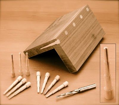 Make Dowels Decorative Fine Furniture