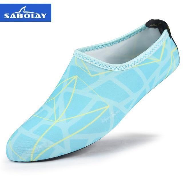 a9e2e1df5908 Sabolay Sand Socks Quick Dry Scuba Boot Shoes Anti-Slip Diving Sock Water  Sports Beach Socks Fins