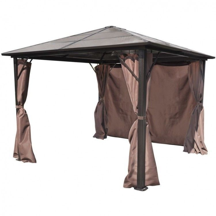 Patio Metal Hardtop Gazebo Curtains Set Heavy Duty Outdoor Furniture Cover Kit Outdoor Furniture Covers Gazebo Curtains Hardtop Gazebo