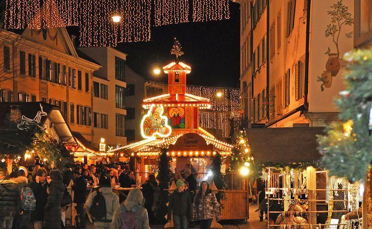 Weihnachtsmarkt In Winterthur Weihnachtsmarkt Schw