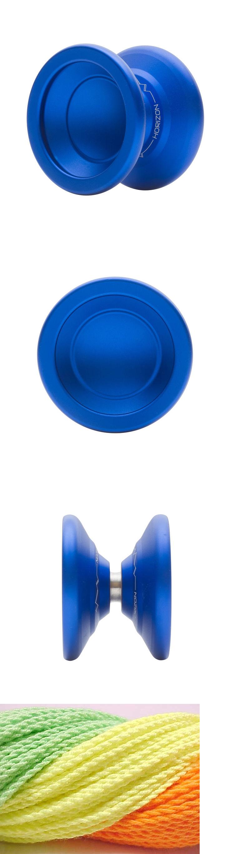 Horizon Blue Yo Yo From YOYOFactory Paul Kerbel 3 Neon Strings YE//OR//GR