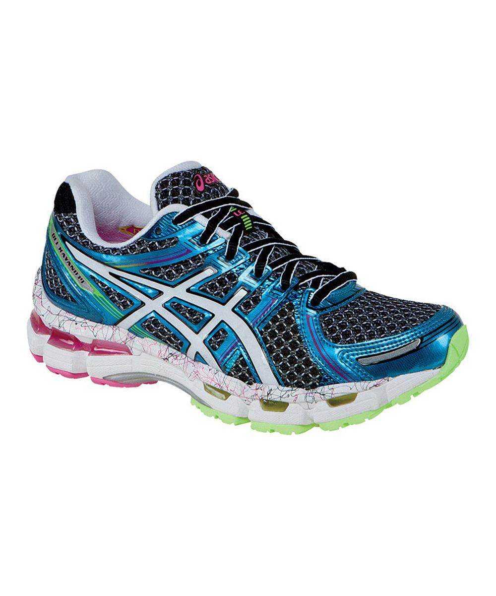 Love These Asics Black Flash Pink Gel Kayano 19 Running Shoes