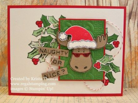 Jolly Friends and Holly Berry Happiness, www.regalstamping.com, by Krista…