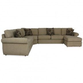 BROYHILL VERONICA RAF CHAISE SECTIONAL - SOFA, LIVING ROOM ...