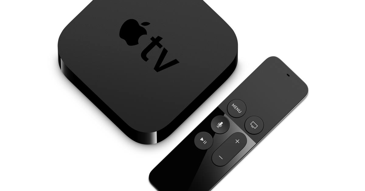 Apple TV gives you access to everything you want to see