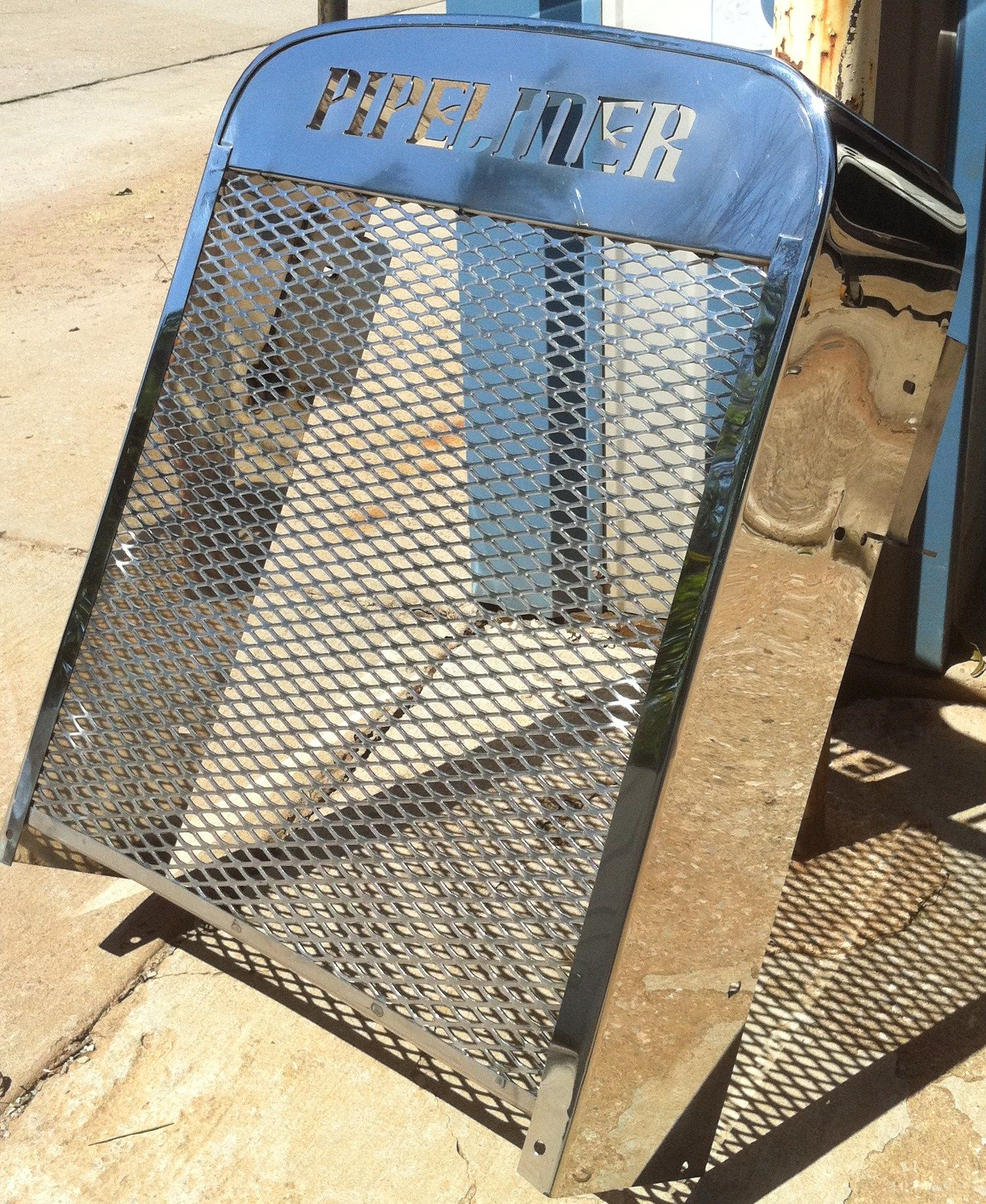 mirror polished grill assembly welding Pinterest