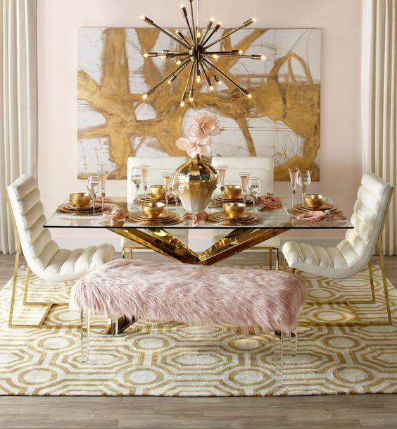 Photo of 10 maneras de usar decoración dorada: una guía para decorar con oro