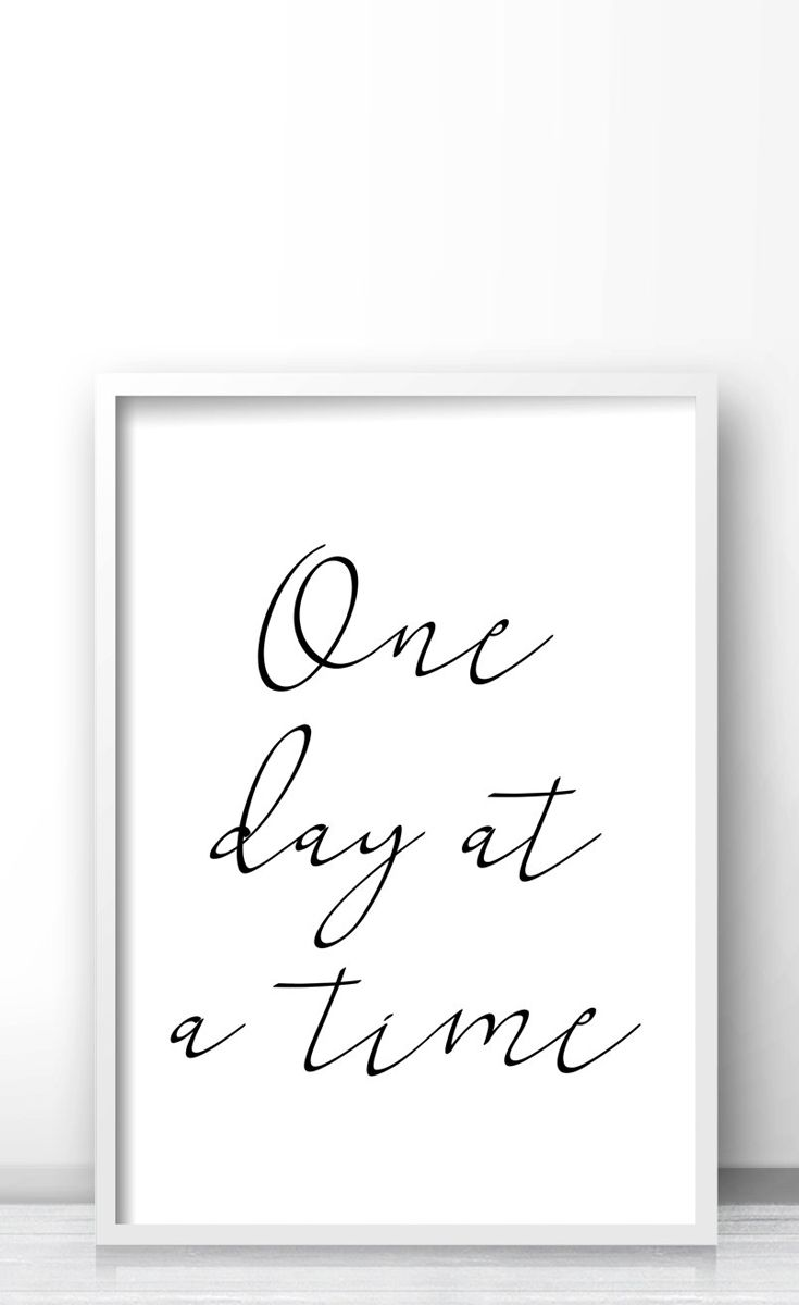 Black White Quote Print Home Decor Wall Print Instant Download Printable Art Digital Download Typography Wall Art Quote Wall Art Print