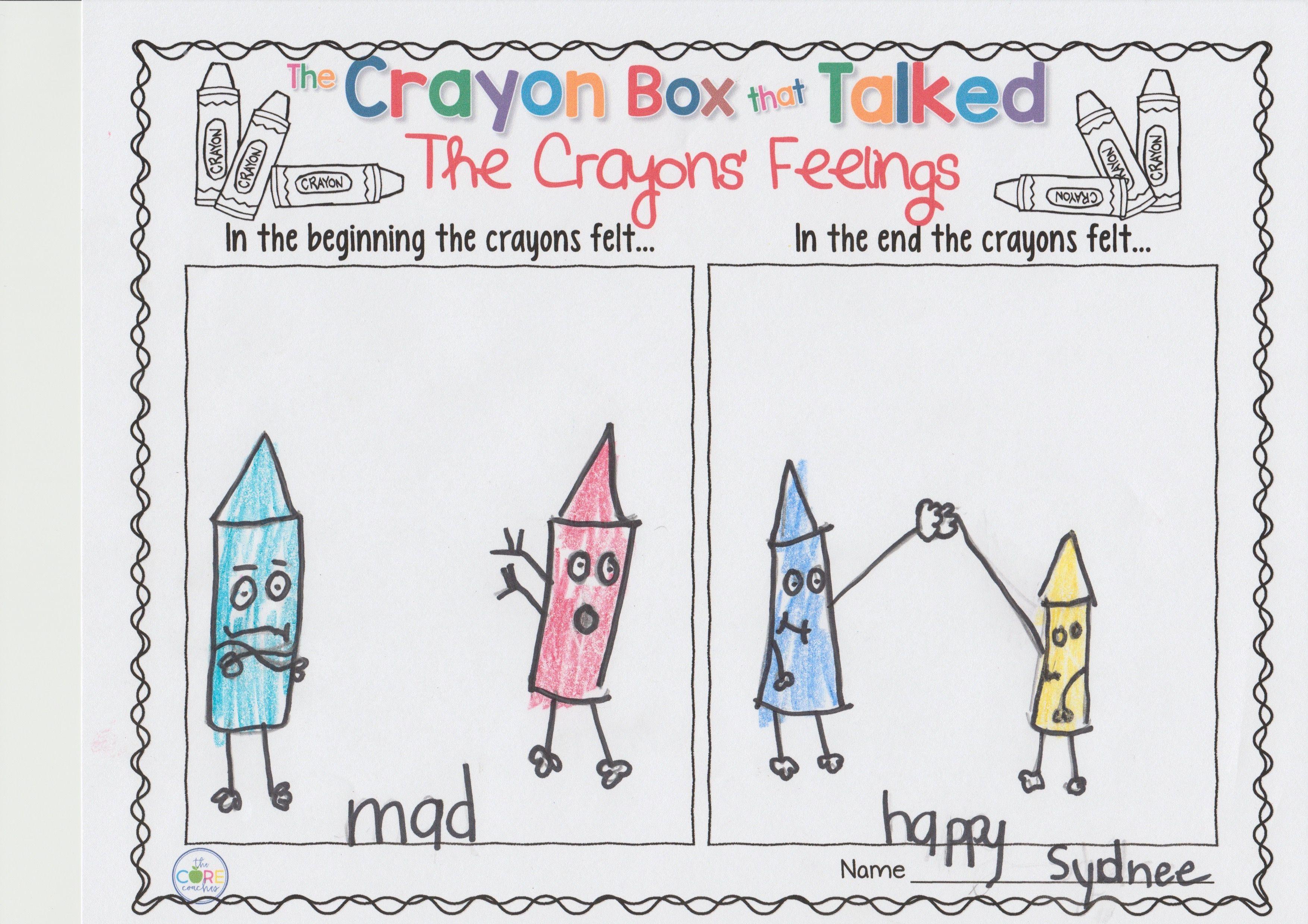 The Crayon Box That Talked Digital Read Aloud