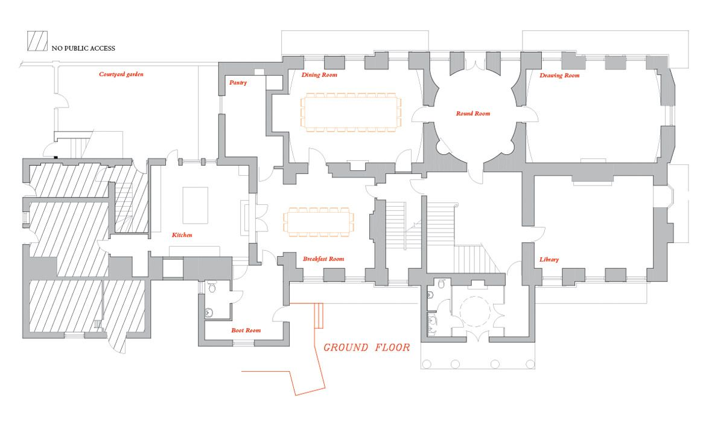 Floorplan Floor Plans Ground Floor Plan Holiday Cottage