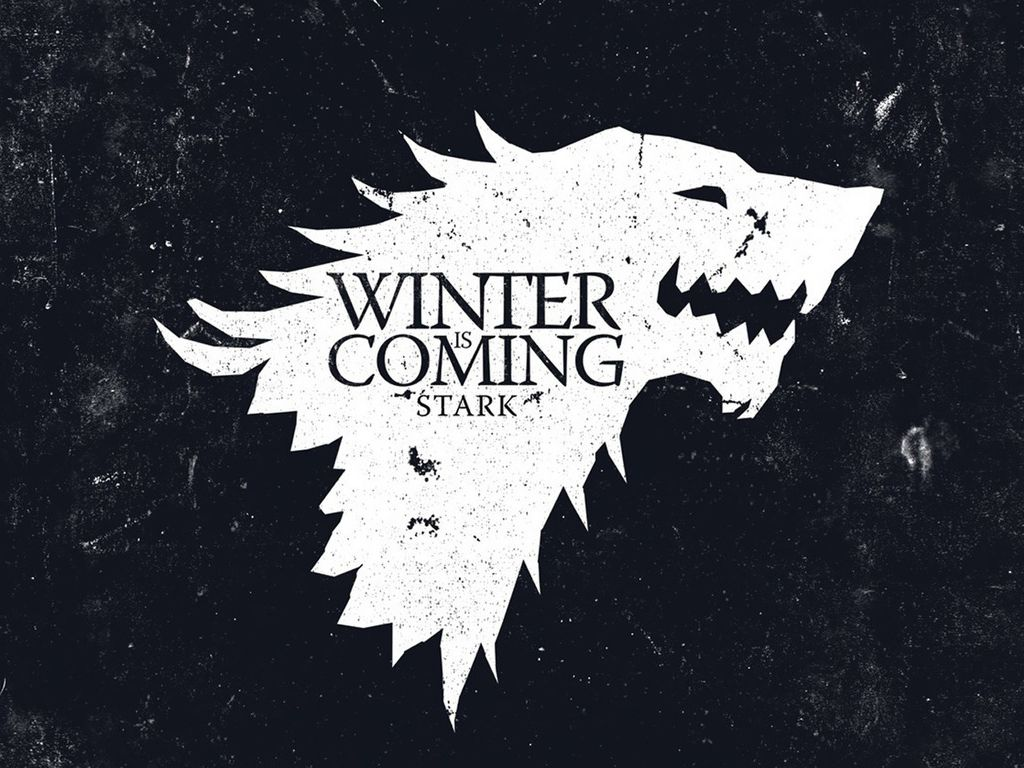 D648d318e0cac458a161e794d745405ac9d569ba 1 024 768 Pixels Winter Is Coming Wallpaper Game Of Thrones Houses Game Of Thrones Winter