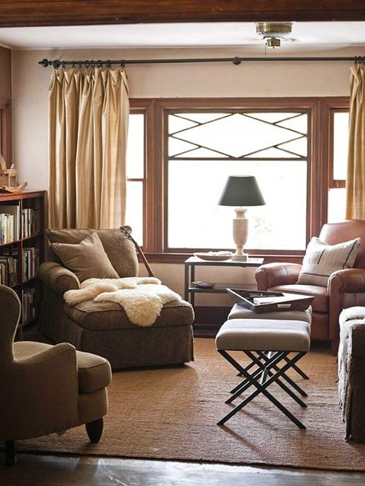 Chair Accent And Cream Brown